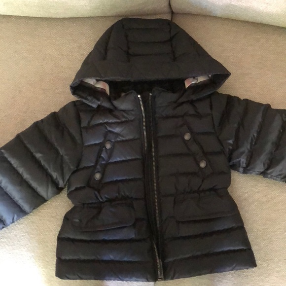Burberry Jackets Coats Children Quilted Down Jacket Poshmark